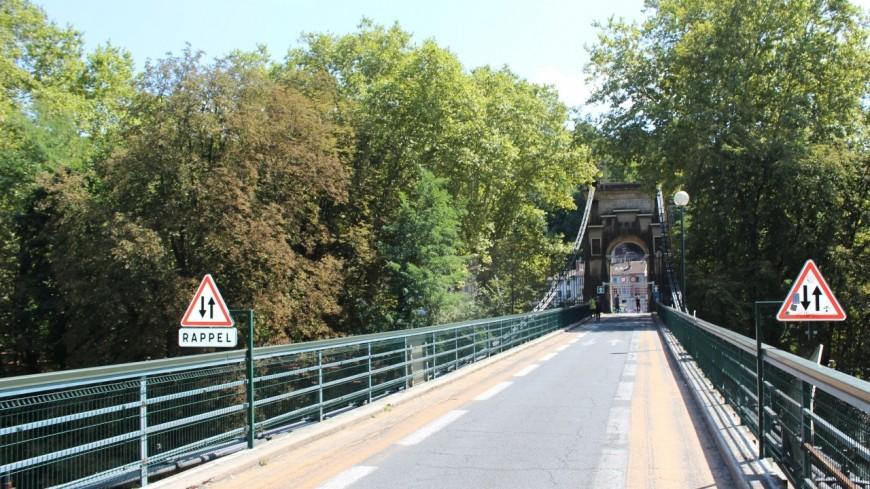 Lyon-Caluire : le pont de l'Île Barbe restera fermé à la circulation jusqu'à sa reconstruction
