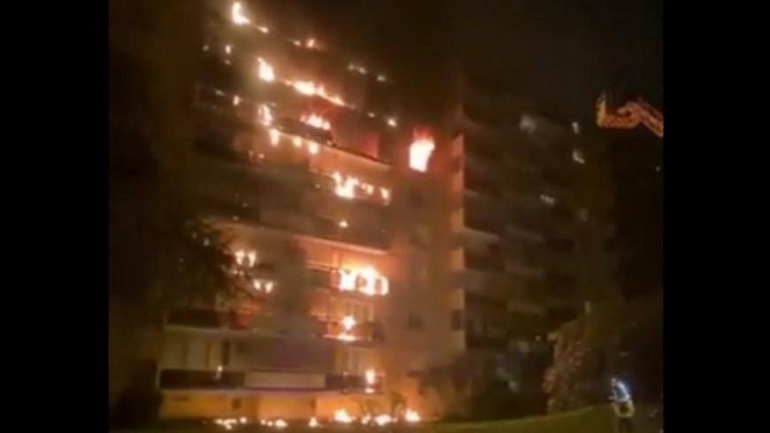 Incendie à Sainte-Foy-lès-Lyon : la structure de l'immeuble ne serait pas atteinte