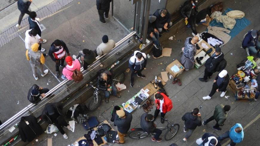 Lyon : la police interpelle plusieurs vendeurs à la sauvette à la Guillotière