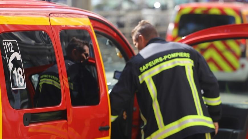 Près de Lyon : des poids lourds prennent feu dans une entreprise à Vénissieux