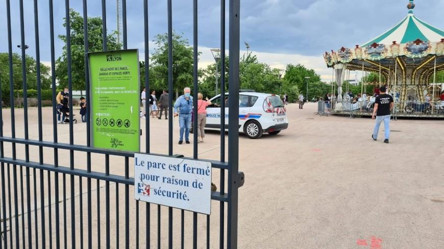 Vents violents : les parcs de Lyon évacués