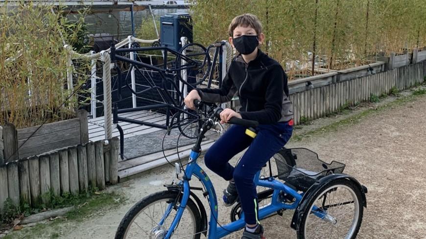 Lyon : une mère de famille lance un appel pour retrouver le vélo médical de son fils
