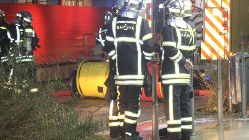 Pluies diluviennes : déjà une trentaine d'interventions de pompiers dans le Rhône