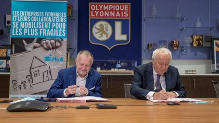 Lyon : signature d'un partenariat entre l'OL et l'Entreprise des Possibles