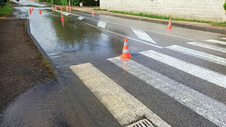 Le record de pluie en une seule journée battu à Lyon !