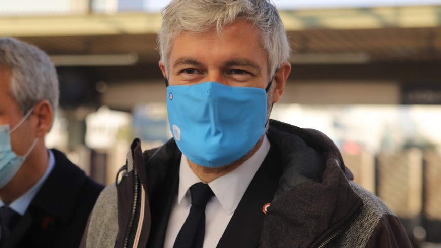 Régionales : Laurent Wauquiez candidat à un nouveau mandat sous le signe de la sécurité, de l'environnement et de la relocalisation