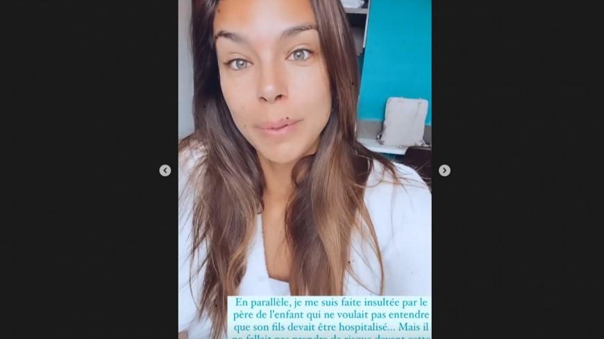 """La Lyonnaise Marine Lorphelin porte assistance à un enfant malade dans un train, elle """"se fait insulter"""""""