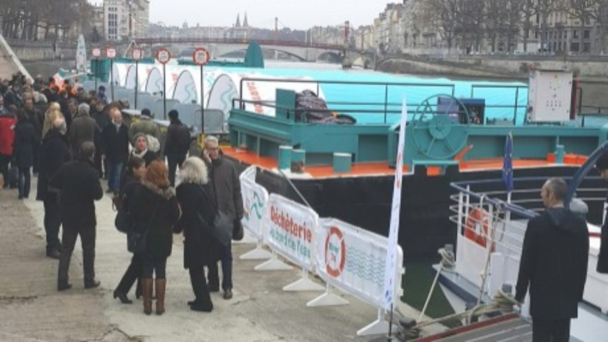 Métropole de Lyon : pas de déchèterie fluviale ce samedi
