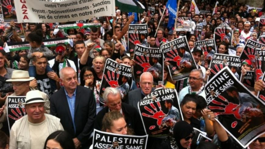 "Lyon : un rassemblement ""pro-Palestine""ce samedi place Bellecour"