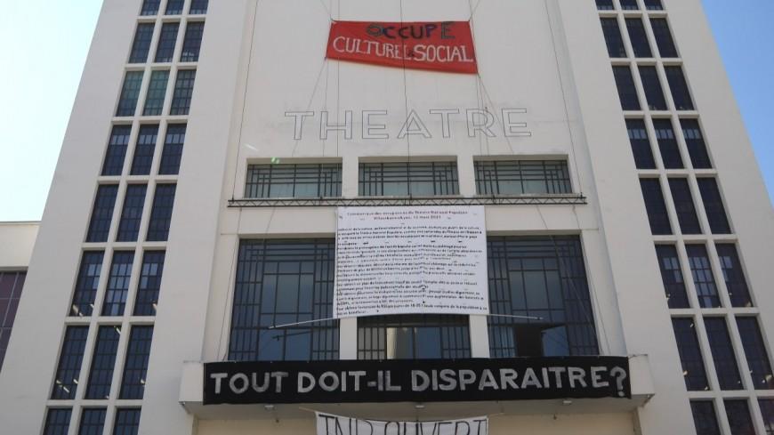Villeurbanne : les occupants du TNP ne souhaitent toujours pas quitter les lieux