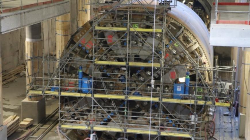 Prolongement du métro B : le tunnelier a terminé le creusement du tunnel !