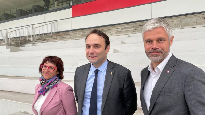 Régionales : Jérémie Bréaud tête de liste de Laurent Wauquiez à Lyon