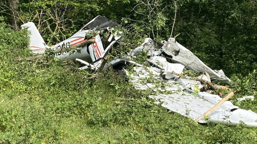 Près de Lyon : crash d'un avion de tourisme, un mort