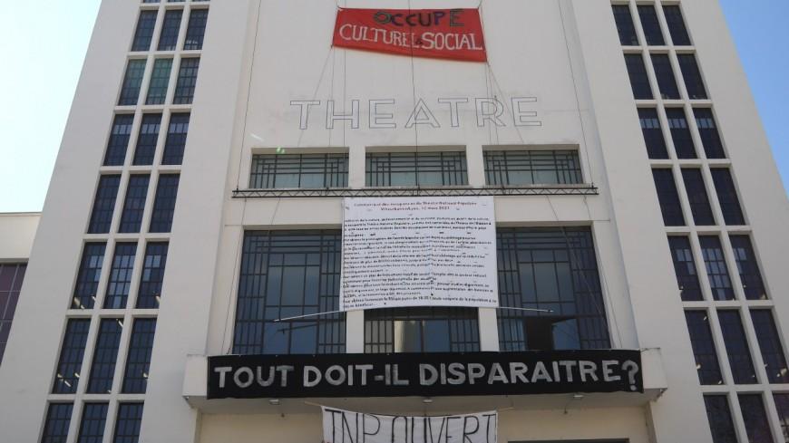 Lyon : les occupants de l'Opéra se réfugient au TNP de Villeurbanne avant d'être expulsés
