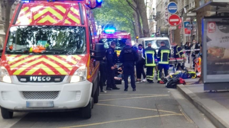 Lyon : un octogénaire blessé après avoir été renversé par un cycliste à la Guillotière