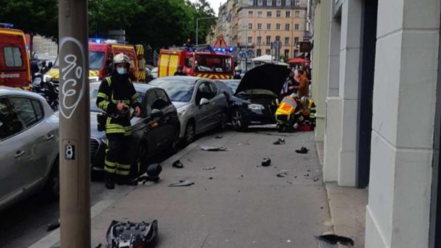 Violent accident à Lyon : les blessés ne sont plus entre la vie et la mort, le scooter n'était pas assuré