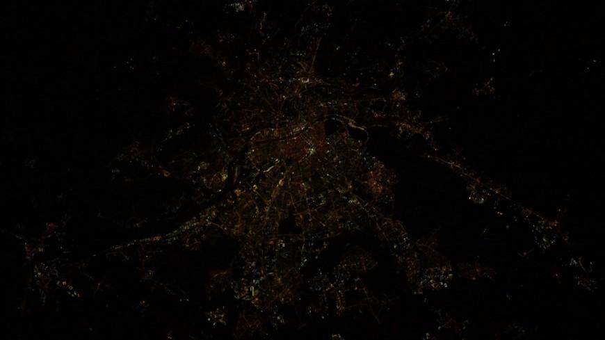 Lyon de nouveau photographiée depuis l'espace par Thomas Pesquet