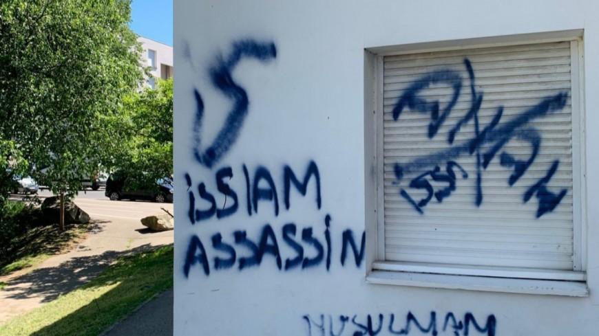 Près de Lyon : des tags racistes retrouvés sur une résidence étudiante à Bron