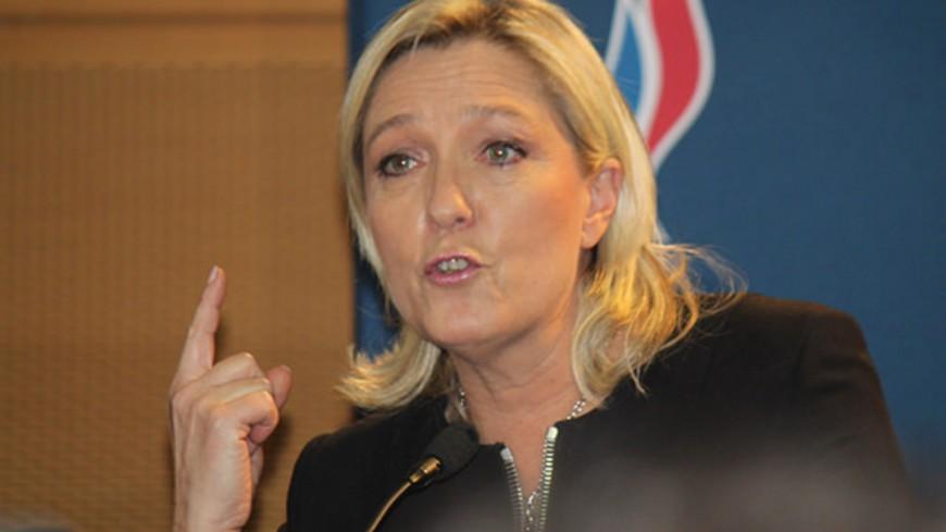 Marine le Pen à Saint Chamond plutôt qu'à Lyon pour les Régionales de juin