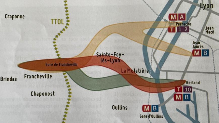 Téléphérique à l'Ouest de Lyon : trois itinéraires présentés par le SYTRAL, l'opposition pas convaincue