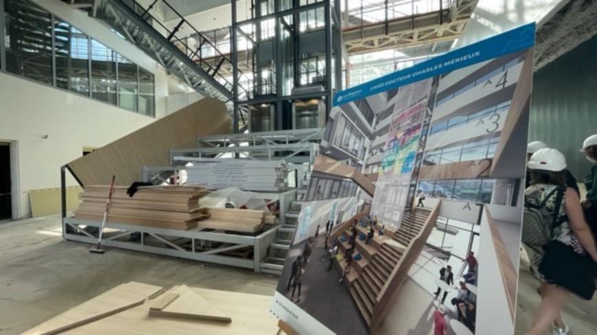Lyon : à Gerland, le lycée Charles Mérieux accueillera ses premiers élèves en septembre