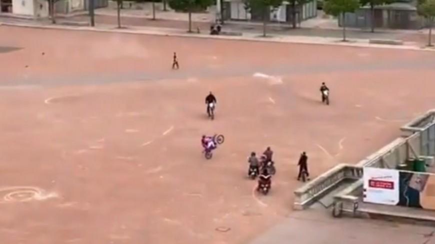 Lyon : deux jeunes interpellés après des rodéos place Bellecour