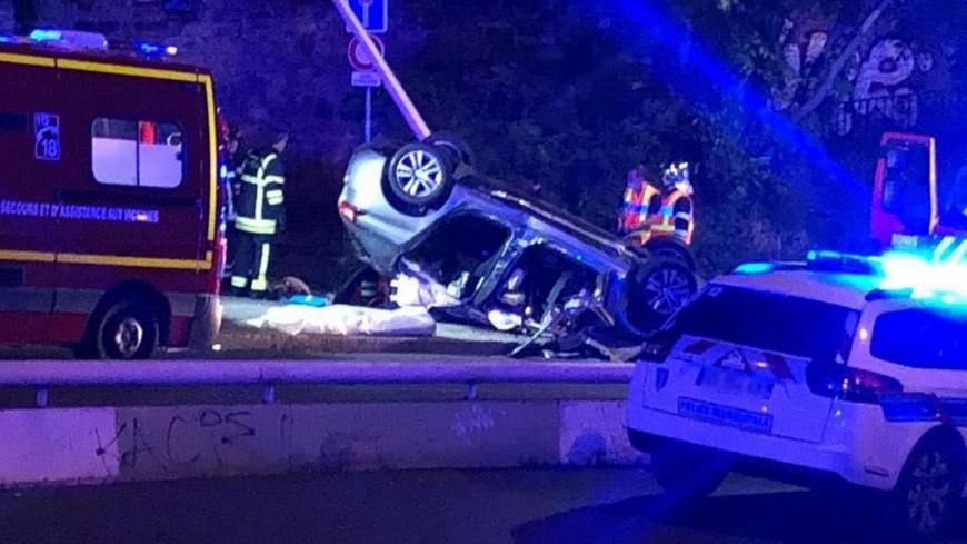 Lyon : décapité lors d'un violent accident de voiture montée de Choulans