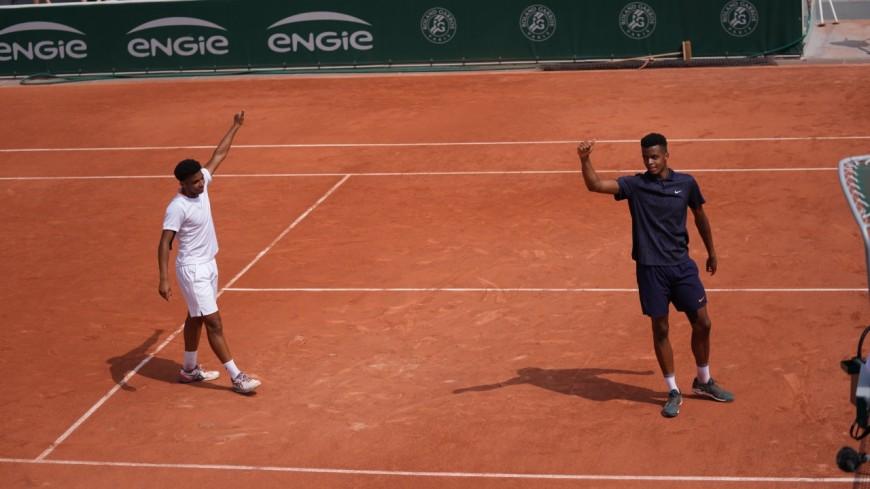 Roland-Garros : le jeune lyonnais Giovanni Mpetshi-Perricard remporte le double juniors