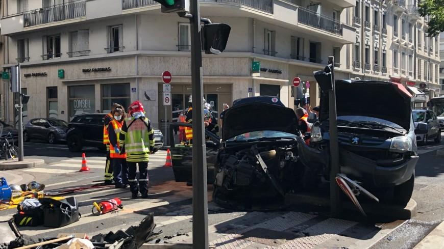 Lyon : une femme grièvement blessée après un accident dans le 6e arrondissement