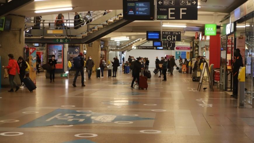 Lyon : la gare de la Part-Dieu évacuée, la circulation des trains interrompue
