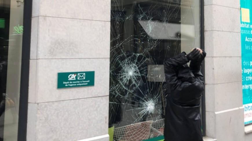 La jeune Suisse était venue à Lyon pour dégrader une banque lors de la manifestation antifasciste