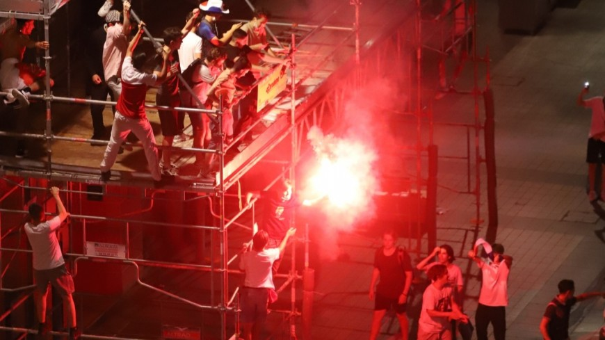 Euro 2021 : la joie des supporters des Bleus à Lyon
