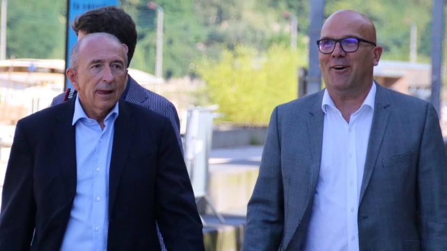 Régionales : Gérard Collomb torpille Bruno Bonnell et refuse de se rendre à son meeting