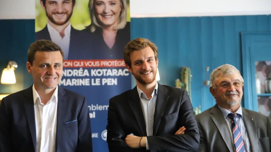 Régionales : d'anciens LR rejoignent le RN d'Andréa Kotarac