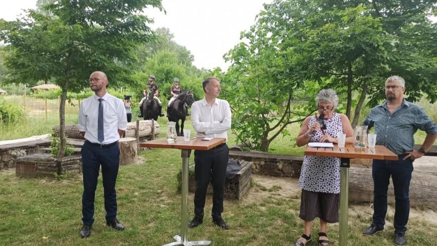 """Métropole de Lyon : en plein cœur du Grand Parc de Miribel-Jonage, les écologistes détaillent leur """"plan nature"""" à 44 millions d'euros"""
