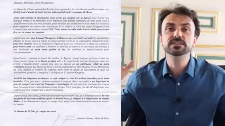 Régionales : les Verts accusent des maires LR de soutenir Laurent Wauquiez par voie postale, quid de la vidéo de Doucet ?