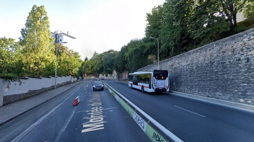 Modification du cycle des feux, radars pédagogiques… : les annonces de la Métropole de Lyon après l'accident montée de Choulans