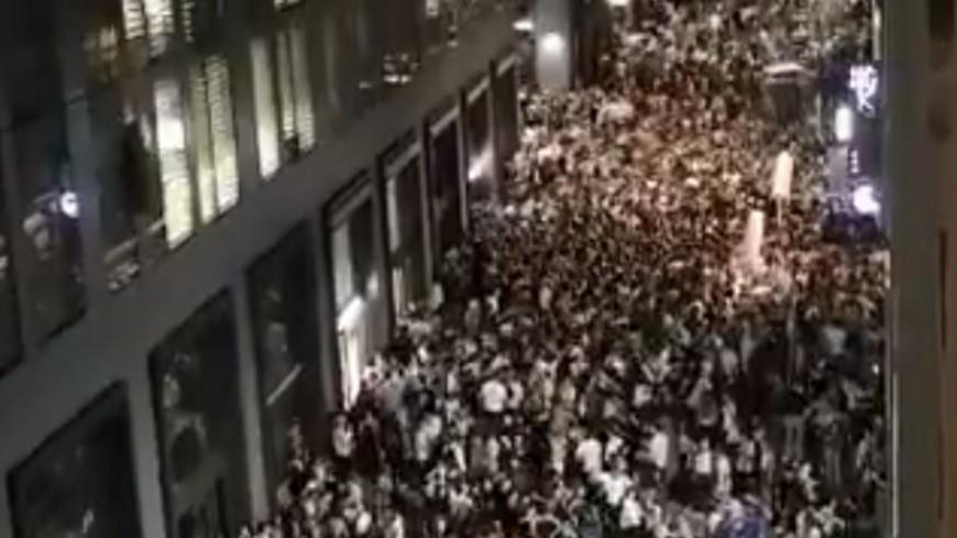 Lyon : les rues noires de monde pour la fête de la musique, aucun incident grave