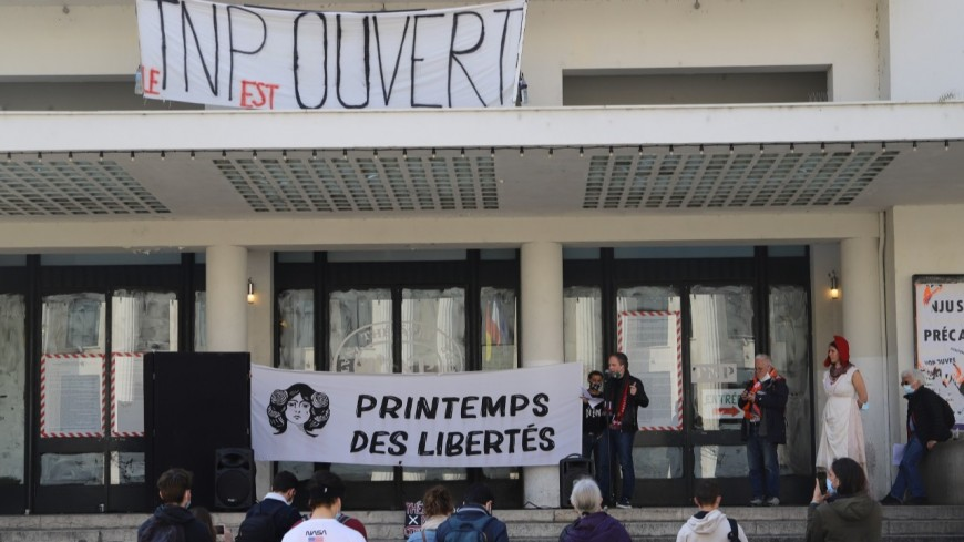 Villeurbanne : le TNP sera libéré de ses occupants ce samedi