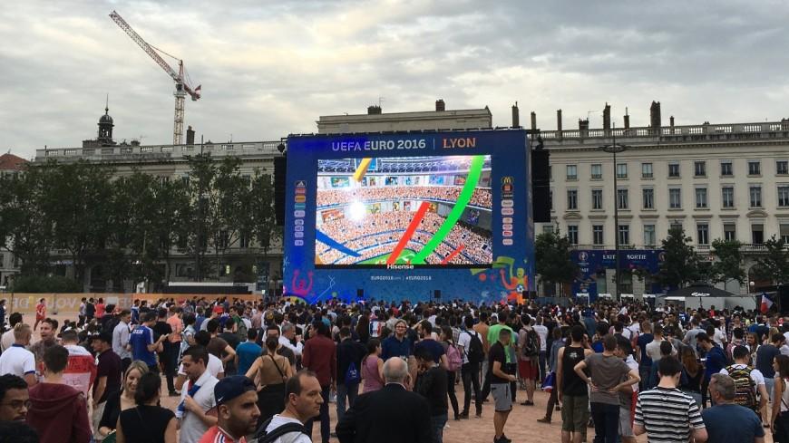 Lyon : une fan-zone et un écran géant pour la suite de l'Euro des Bleus !