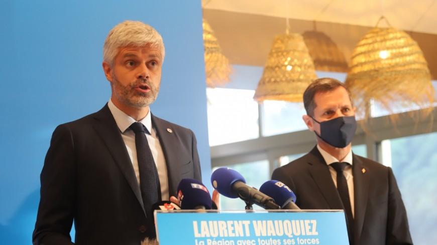 Régionales : un sondage promet une large victoire de Laurent Wauquiez au second tour, la gauche unie perd des voix en route