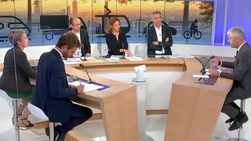 Régionales : un dernier débat en Auvergne-Rhône-Alpes, sans effet sur l'intérêt des électeurs ?