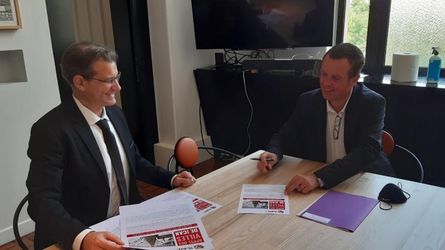 Villeurbanne signe un traité sur l'interdiction des armes nucléaires