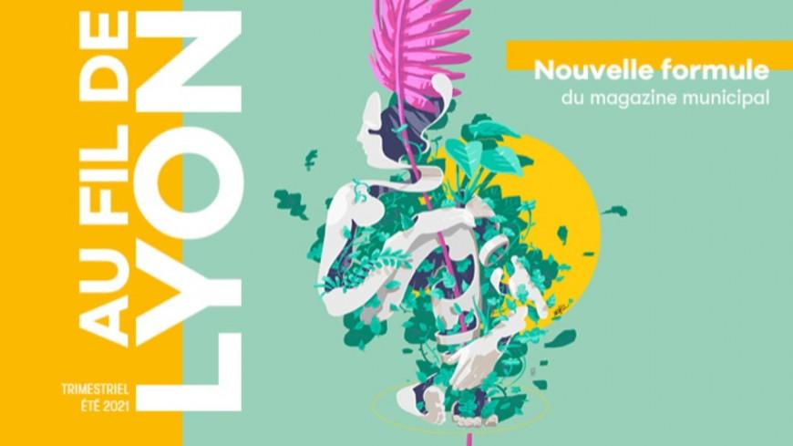 """""""Lyon Citoyen"""", le magazine municipal, devient """"Au Fil de Lyon"""""""