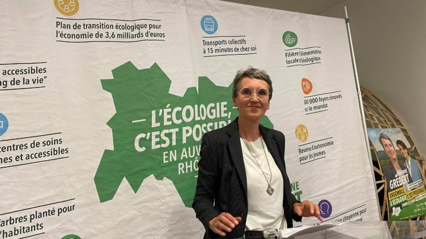 """Régionales: """"L'écologie a montré sa capacité à fédérer et à rassembler"""" assure Fabienne Grébert (EELV)"""