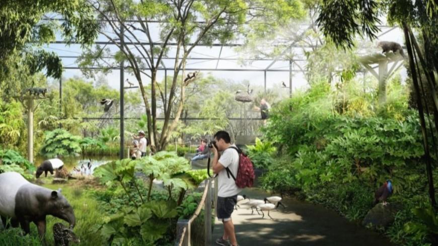 Lyon : la Forêt d'Asie ouvrira au public le 7 juillet au parc de la Tête d'Or !