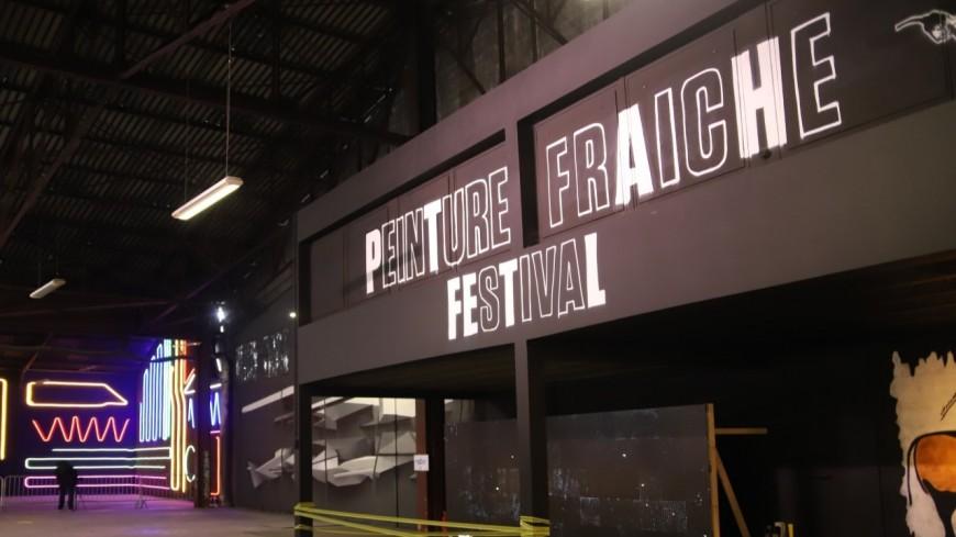 """Le festival de Street Art """"Peinture Fraiche """" revient cette année à Lyon !"""