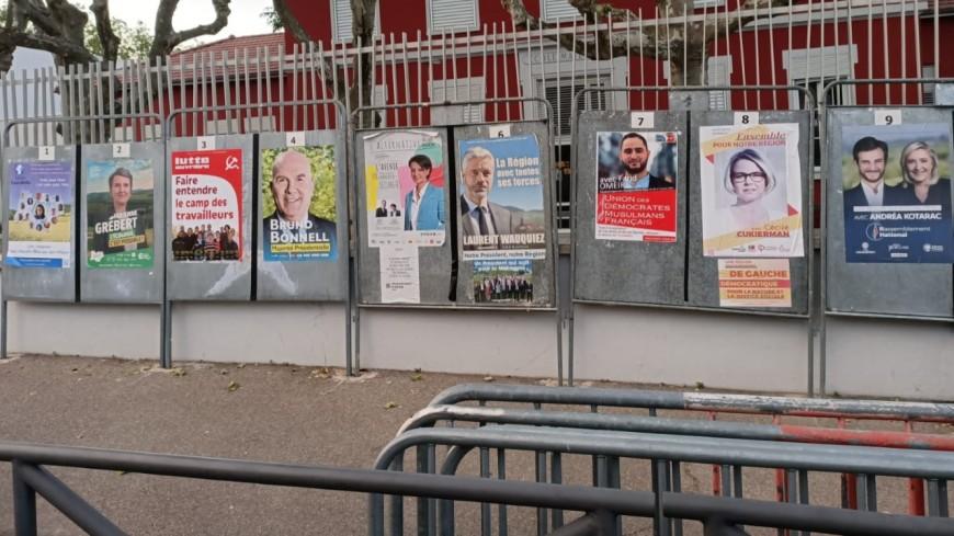 Retour sur les chiffres des élections régionales en Auvergne-Rhône-Alpes