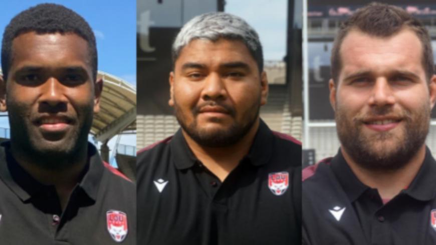 Rugby : le LOU signe trois nouveaux joueurs