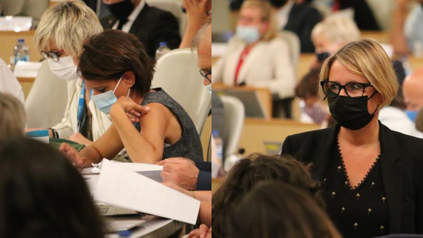 Election du président de Région : malgré l'union de la gauche, Najat Vallaud-Belkacem et Cécile Cukierman sont candidates